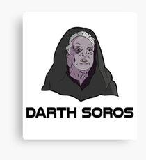 Darth Soros Canvas Print