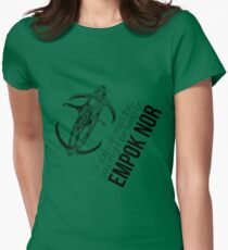 You Might be on Empok Nor - DS9 Tee Women's Fitted T-Shirt