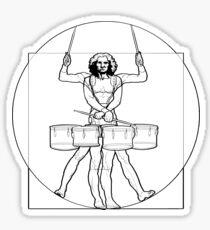 Vitruvian Tenor Drummer Sticker