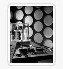 First Doctor's TARDIS Sticker