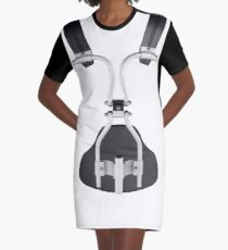 Drum Carrier by Rudiment Republic Graphic T-Shirt Dress