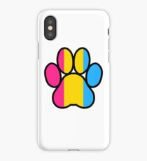 Pride Paws - Pansexual 2 iPhone Case/Skin