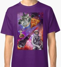 Pizza Cat in Space Classic T-Shirt