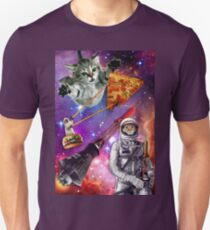Pizza Cat in Space Unisex T-Shirt