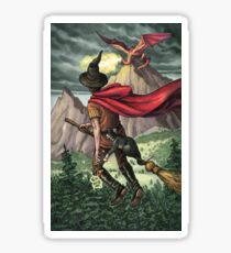 Everyday Witch Tarot - Knight of Wands Sticker