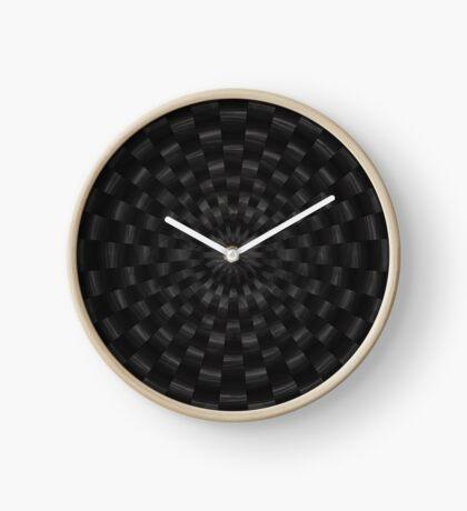 Circular Gray by Julie Everhart Clock