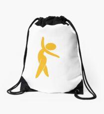 Ballet dancer Drawstring Bag
