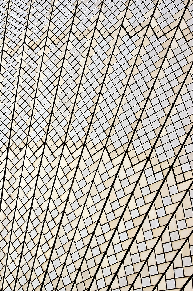 Sydney Opera House : It's Tile-istic by TonyCrehan