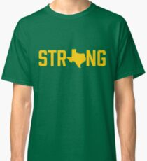 Texas State Strong Baylor Yellow Classic T-Shirt