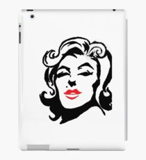 Marilyn Monroe - Black & Red iPad Case/Skin