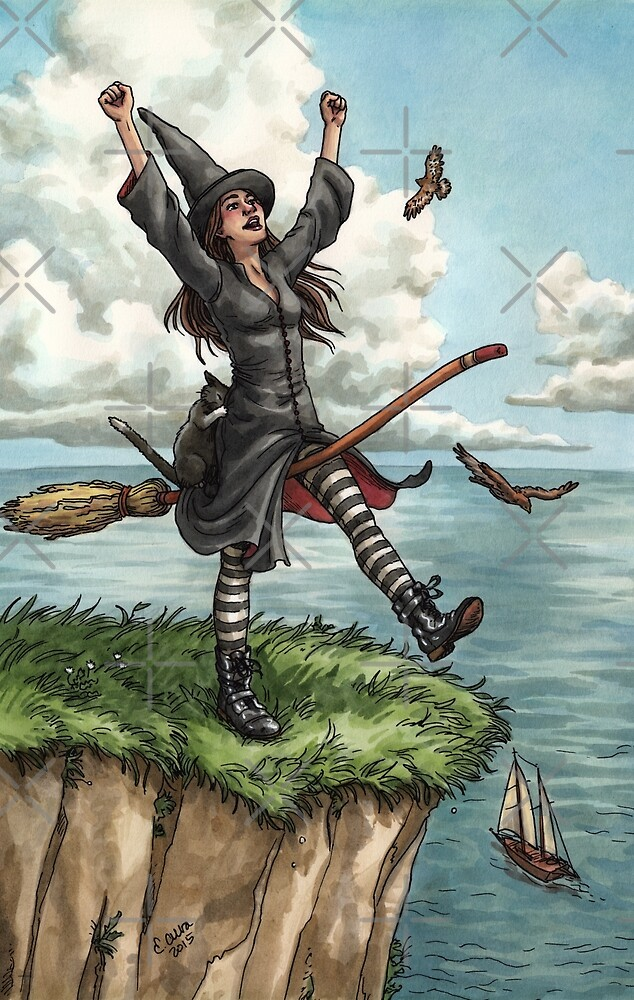 Quot Everyday Witch Tarot The Fool Quot By Elisabeth Alba