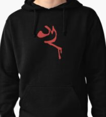 Red Leader Insignia Pullover Hoodie