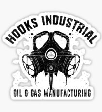 Hooks Industrial Oil and Gas Sticker