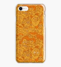 A Whole Bunch o' Faces iPhone Case/Skin