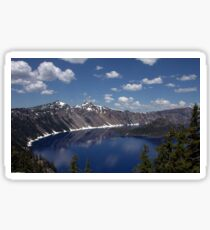Reflections of Crater Lake  Sticker