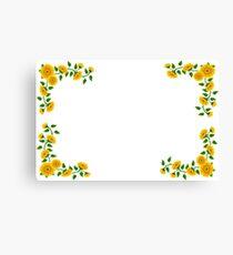 Sunflower Graphic Canvas Print
