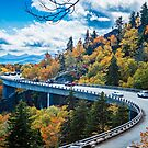 linn cove viaduct nc by ALEX GRICHENKO
