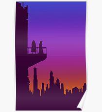 Coruscant Twilight Poster
