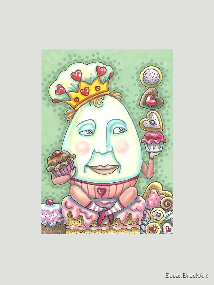 King Of Valentine Confections  Susan Brack by SusanBrackArt