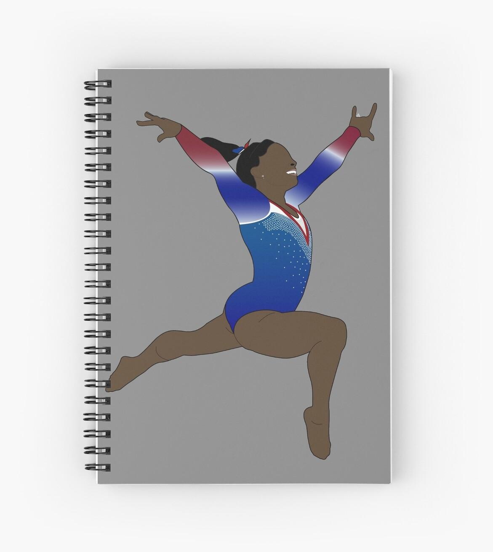 Simone Biles - Olympische Göttin von nineteen58