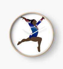 Simone Biles - Olympic Goddess Clock