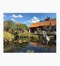 China in EPCOT, Walt Disney World  Photographic Print