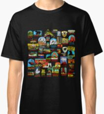 National Parks Vintage Travel Decal Bomb Classic T-Shirt