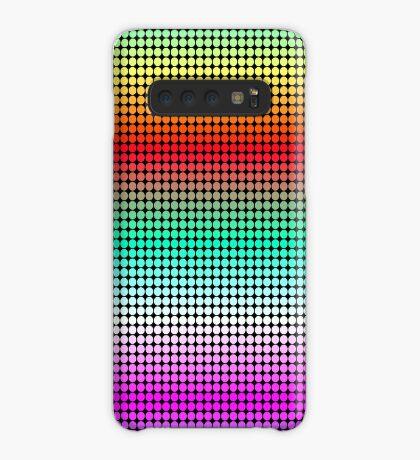 Rainbow Polka Dots Case/Skin for Samsung Galaxy