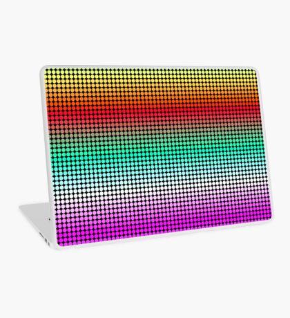 Rainbow Polka Dots Laptop Skin