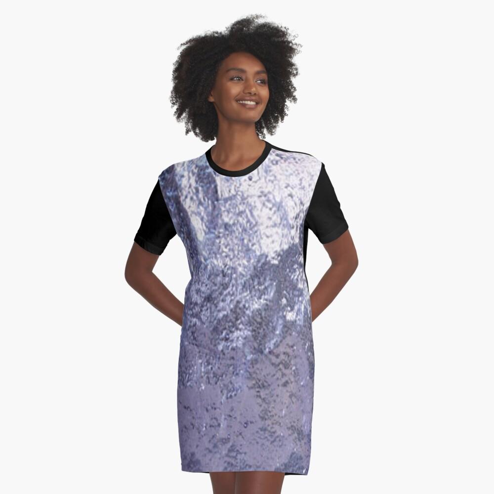 Trekkie Tanukiutti Graphic T-Shirt Dress Front