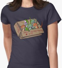 Free Velociraptors Women's Fitted T-Shirt