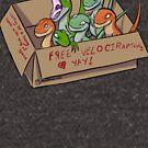 Free Velociraptors by MadMeon