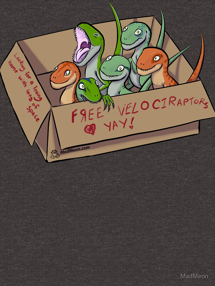 Free Velociraptors by MadMeon