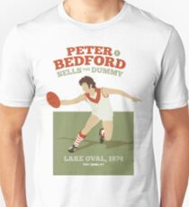 Peter Bedford, South Melbourne -  (for white shirts only) Unisex T-Shirt