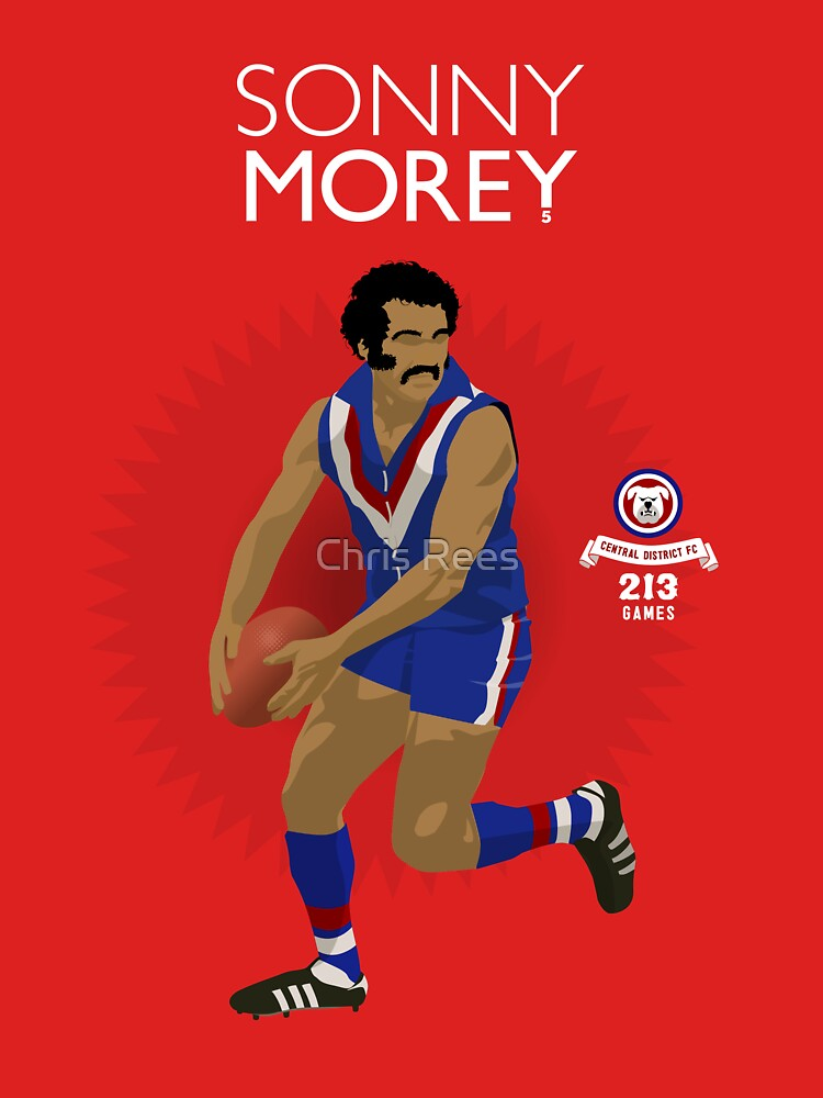 Sonny Morey of Central Districts (for red shirts only) by 4boat