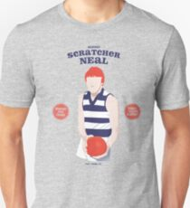 Robert Scratcher Neal, Geelong  (for grey shirts only) T-Shirt