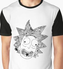 Rick (white) Graphic T-Shirt