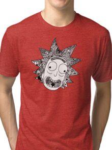 Rick (white) Tri-blend T-Shirt