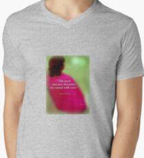 Réflexion Mens V-Neck T-Shirt