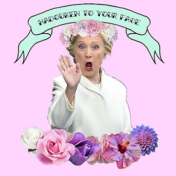 Hadouken Hillary by ShoeboxMemories