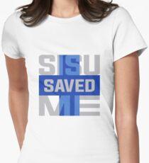 Sisu Saved Me Women's Fitted T-Shirt