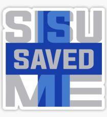 Sisu Saved Me Sticker