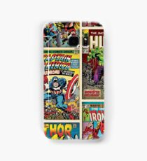 Comic Strips Samsung Galaxy Case/Skin