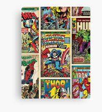 Comic Strips Canvas Print