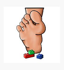 Lego Pain Photographic Print
