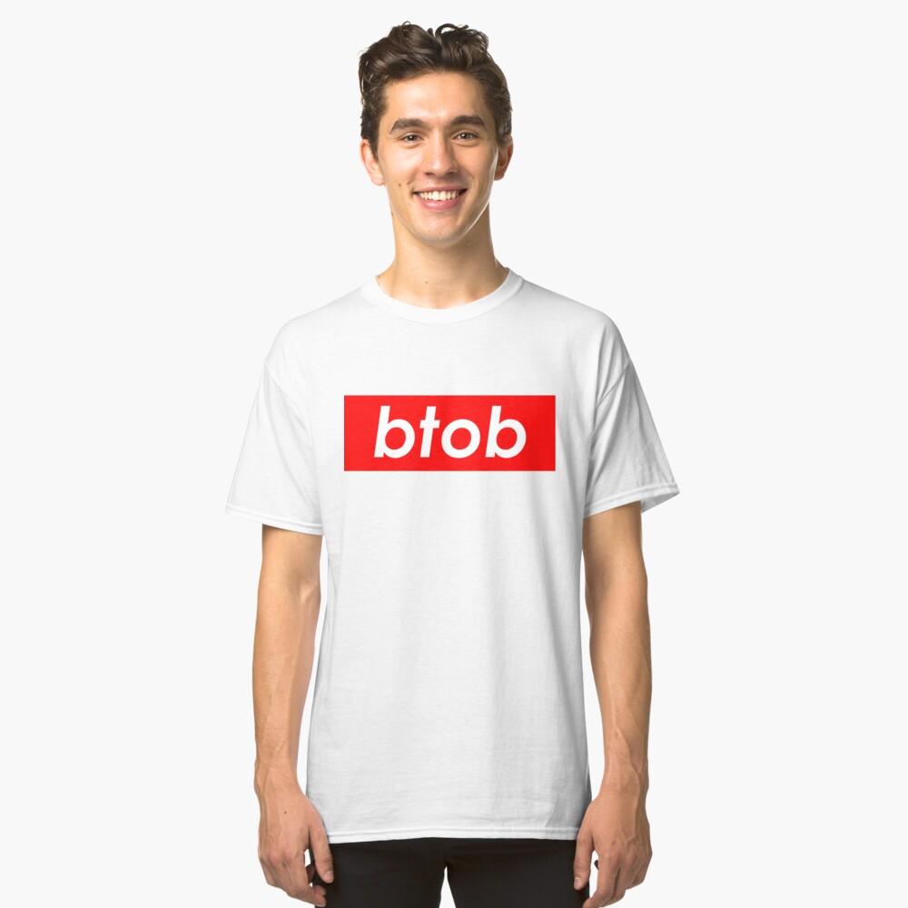 BTOB Born To Beat Kpop Music T Shirt
