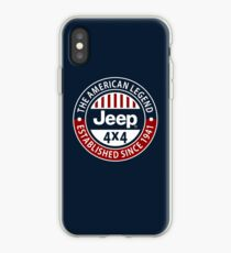 The American Legend Jeep 4x4 iPhone Case