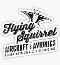 Flying Squirrel Aviation Sticker