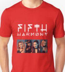 Fifth Harmony Portrait #WhiteText Unisex T-Shirt