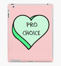 Pro Choice iPad Case/Skin